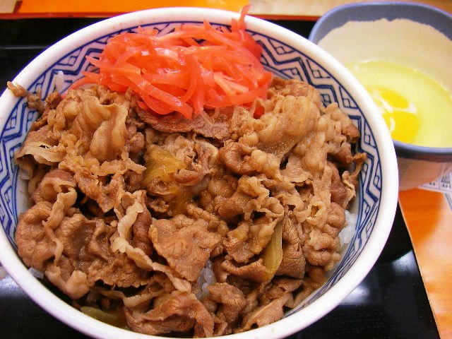 Watching Japanese Food & Junk Food. » 牛丼